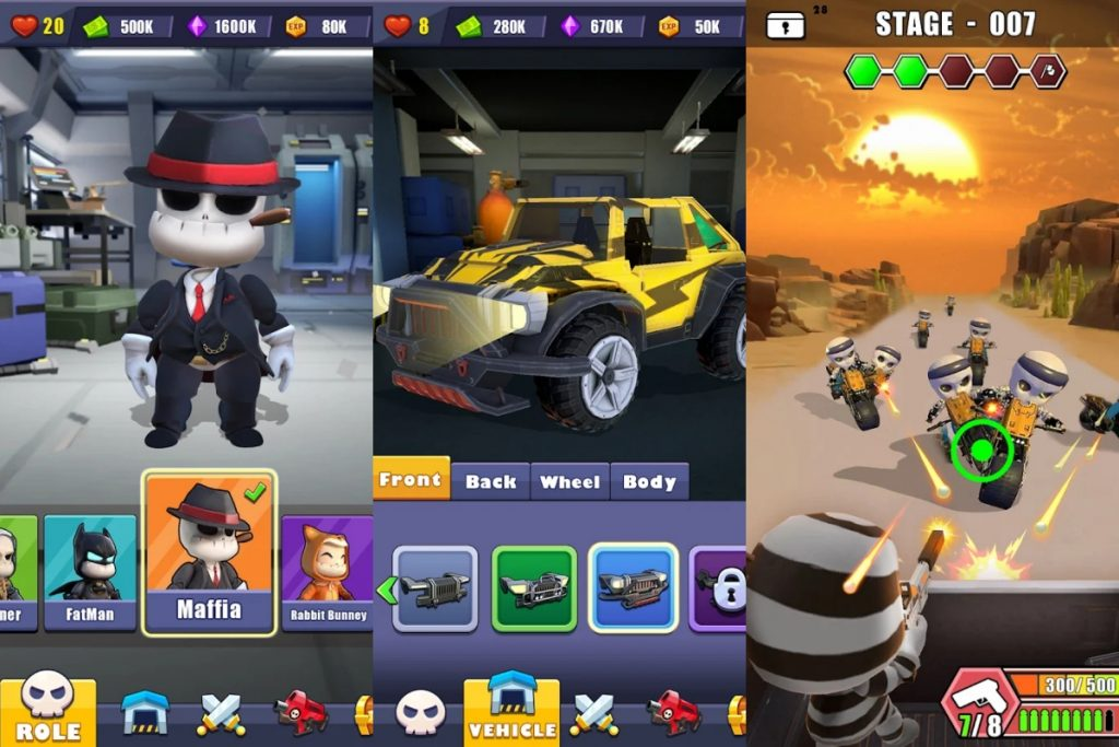 Shooting Car 3D For PC – Download & Play On PC [Windows / Mac]
